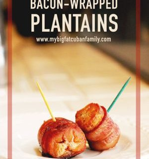 Bacon-Wrapped Plantains Recipe