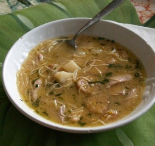 Chicken Soup Recipe: Cuban-style