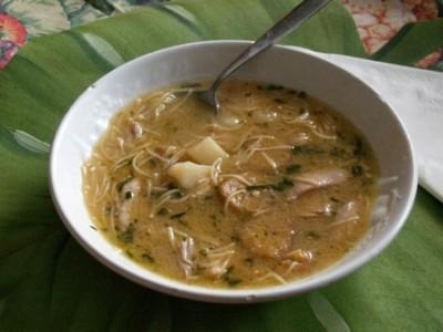 Chicken Soup Recipe - Cuban-style