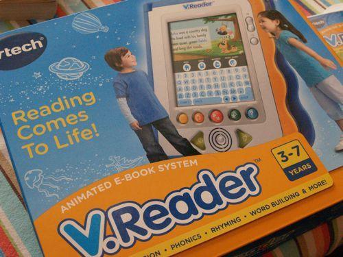 V.Reader Techno-book Winner