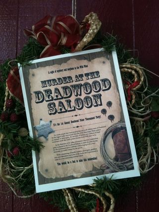 Murder at the Deadwood Saloon