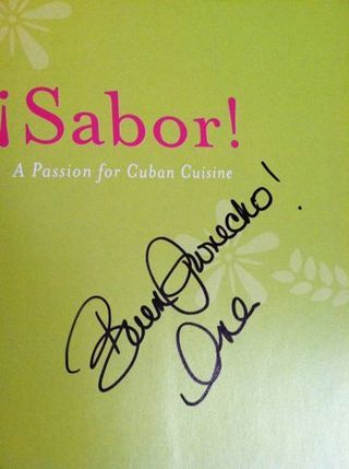 Sabor! Cookbook Winner