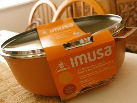 IMUSA Orange (!) Caldero – A Winner