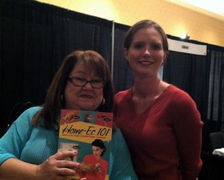 Home-Ec 101? She wrote the book. (A Giveaway)
