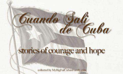 Cuando Sali de Cuba (or not) – Christina's Story (MBFCF Giveaway #4)