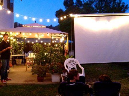 Hello, Outdoor Movie Nights