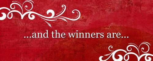 MBFCF Giveaway Week Winners