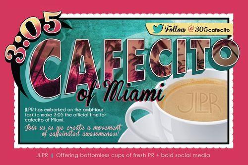 3:05 Miami Cafecito Break (A Winner)