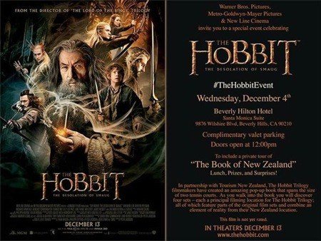 The Book of New Zealand – The Hobbit Event