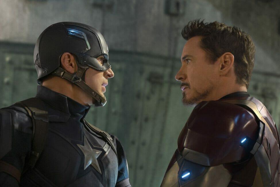 Captain America Civil War Press Conference – Team Cap vs. Team Ironman