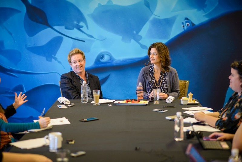 Finding Dory – Interview with filmmakers Andrew Stanton and Lindsey Collins
