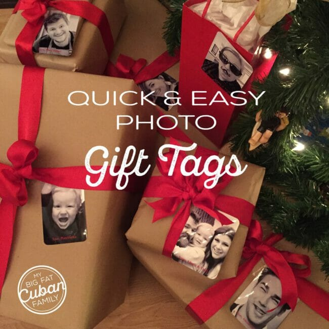 How to Make DIY Photo Gift Tags