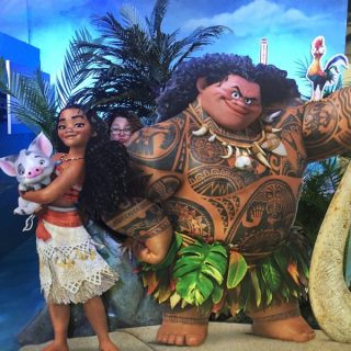 Disney's Princess Moana is Fierce