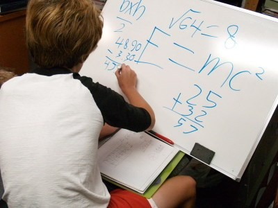 Math inferiority