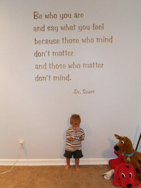 "Now it's time for… ""Big Thoughts with Dr. Seuss."""