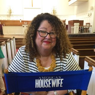 On the Set of ABC's American Housewife