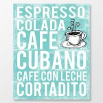 Cuban Coffee Poster